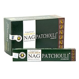 Vijayshree Golden Nag Patchouli Masala Incense Sticks (1 x 15g box)